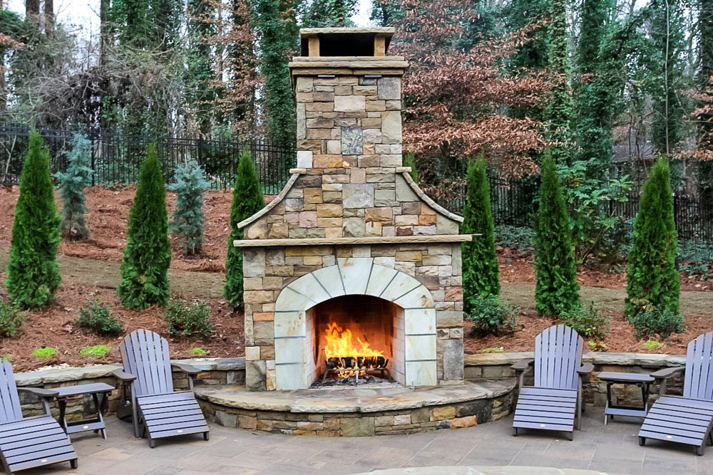 Atlanta outdoor living the possibilities and the costs for Cost of outdoor living space
