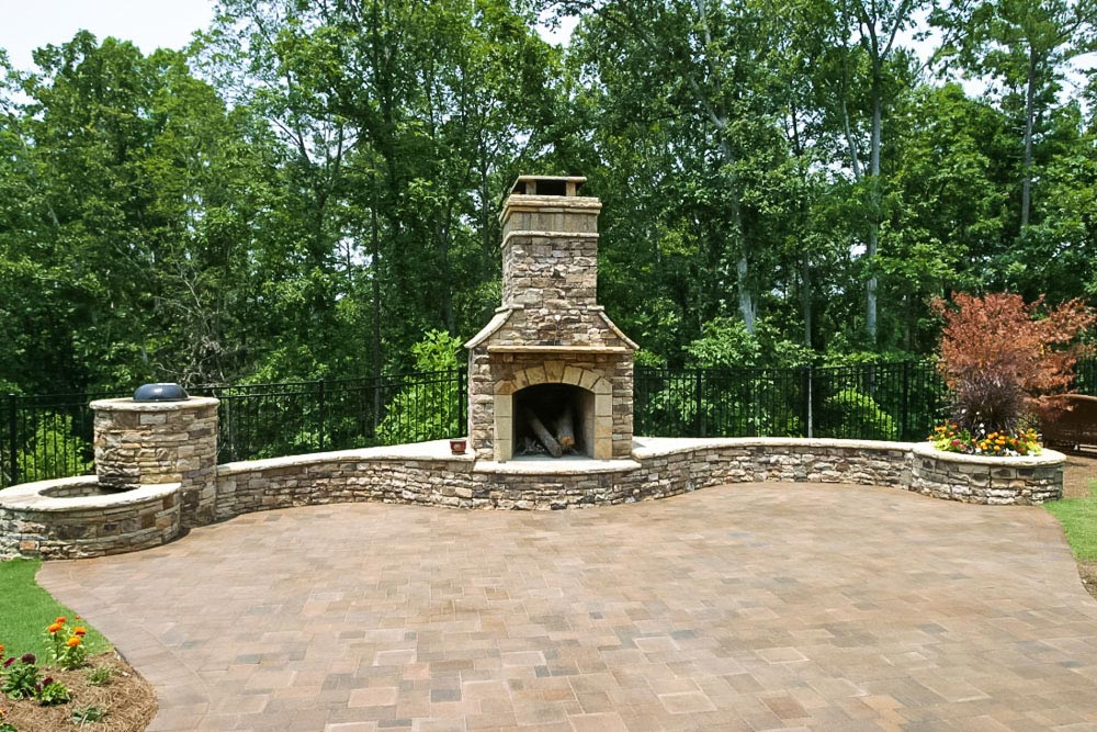 outdoor fireplaces and patios related keywords