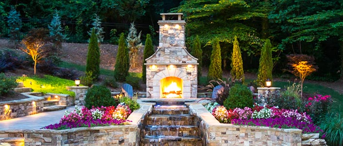 Atlanta Outdoor Fireplaces and Firepits
