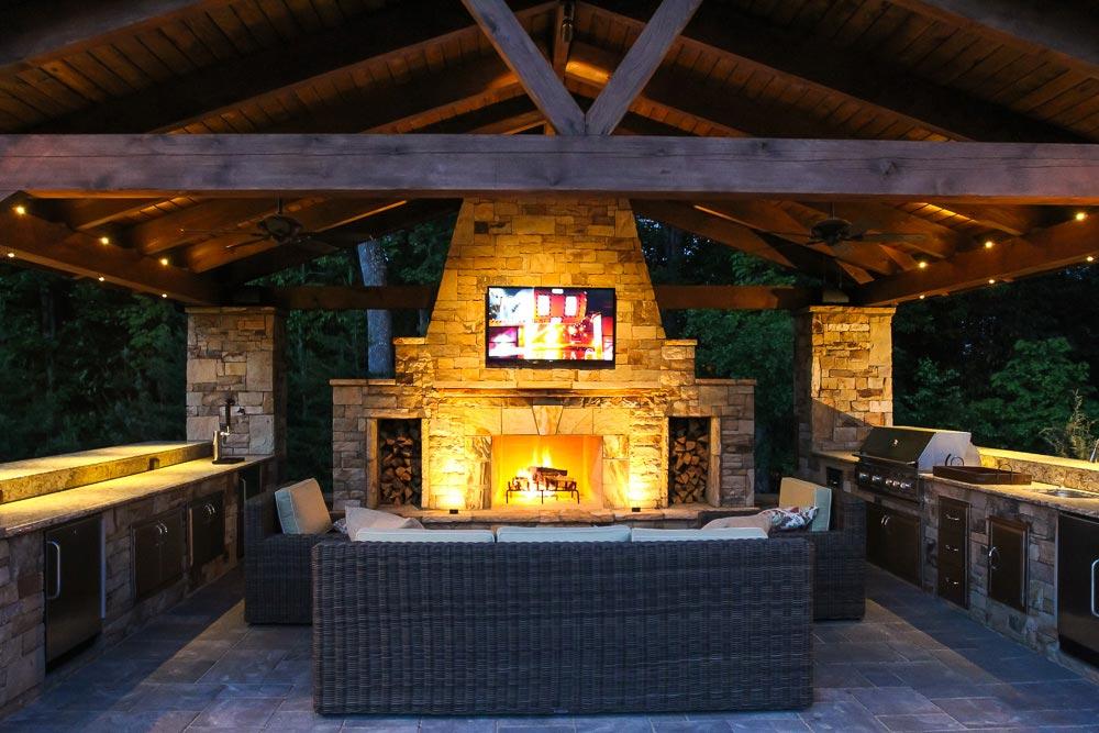 Outdoor Kitchens Artistic Landscapes