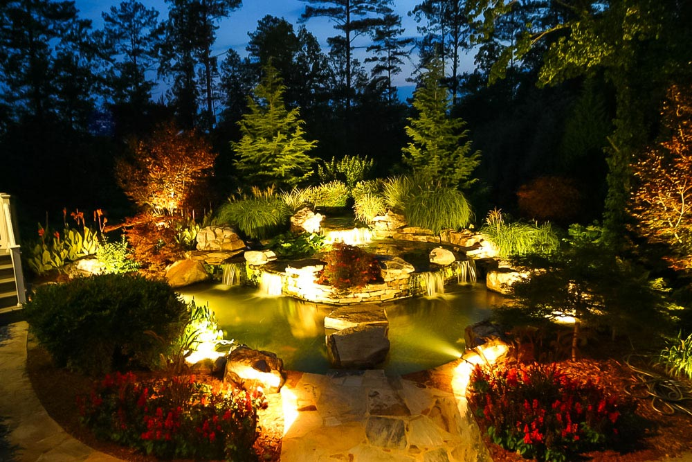 Koi Pond Lighting