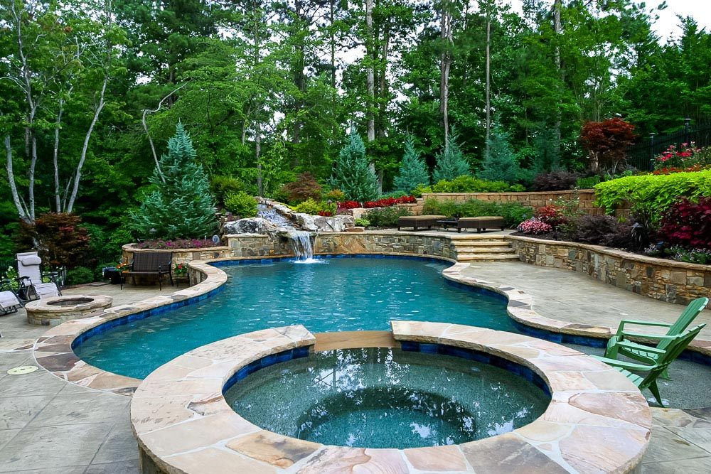 Atlanta outdoor living the possibilities and the costs for 50000 pool design