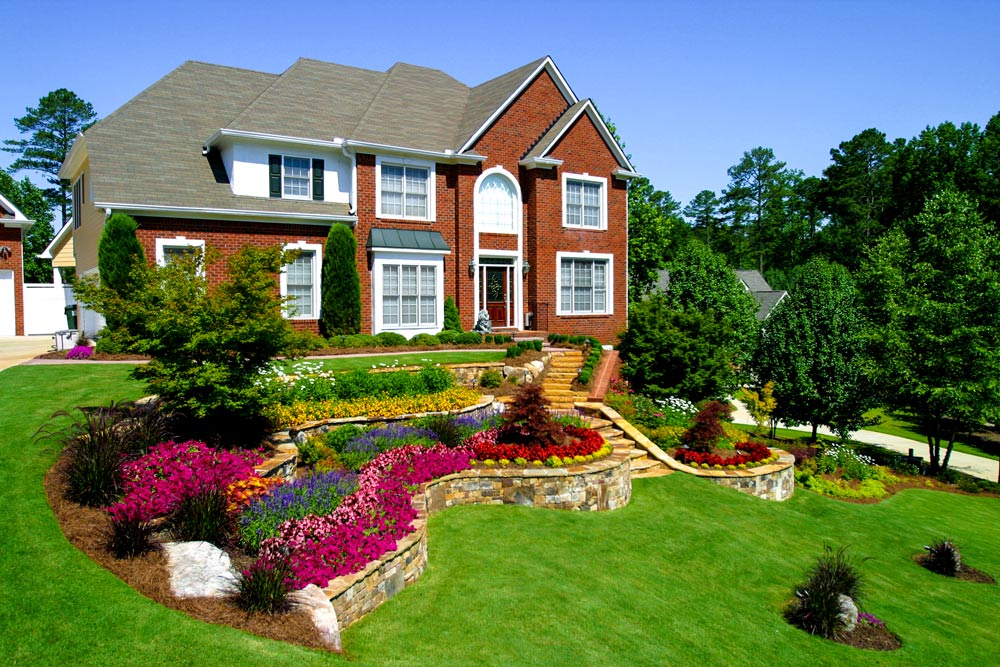 Landscaping With Bermuda Grass : Bermuda lawn artistic landscapes